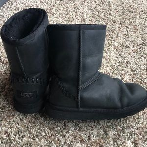 All leather Ugg's size 13